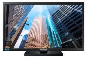 SAMSUNG S24E450FS 24inch 16:9 Wide 1920x1080 TN-LED HAS/ Swivel/ Pivot 130mm Analog/ DVI/ HDMI USB hub (LS24E45UFS/EN)