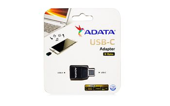 A-DATA USB-C TO USB 3.1A ADAPTER (ACAF3PL-ADP-RBK)