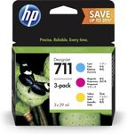 HP INK CARTRIDGE NO 711 C/Y/M 28ML TRIPLE PACK (P2V32A)