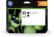 HP INK CARTRIDGE NO 82 BLACK 69ML DUAL PACK (P2V34A)