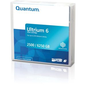 QUANTUM DATA CARTRIDGE LTO-6 LABELED ORDER MULTIPLES OF 20            IN INT (MR-L6MQN-BL)