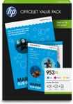 HP No953 XL CMY ink office value pack (1CC21AE)