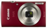 CANON Digital Camera IXUS 185 Red 20megapixel 28mm Wide Angle Lens 8x optical zoom with 16x zoomPlus DIGIC 4+ (1809C001)