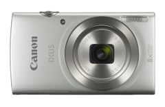 CANON Digital Camera IXUS 185 Silver 20megapixel 28mm Wide Angle Lens 8x optical zoom with 16x zoomPlus DIGIC 4+
