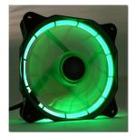 LC POWER Lüfter LC-Power 120*120*25 LC-CF-120-TUBE-G PWM Green-LED (LC-CF-120-TUBE-G)