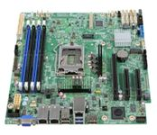 INTEL Server Board DBS1200SPSR 4x SATA Cables + I/O Shield (DBS1200SPSR)