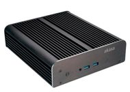 "Newton S6, Fanless case NUC (Brd Specific) + 2.5"" HDD/SSD, Serial Supp"