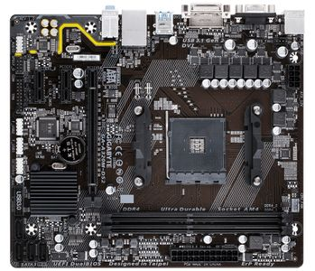 GIGABYTE A320M-DS2 A320, Socket AM4, uATX (GA-A320M-DS2)
