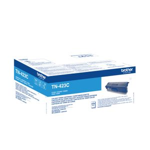 BROTHER Toner Cartridge Cyan HC (TN423C)