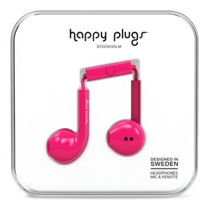 HAPPY PLUGS EARBUD PLUS CERISE                                  IN ACCS (7818)