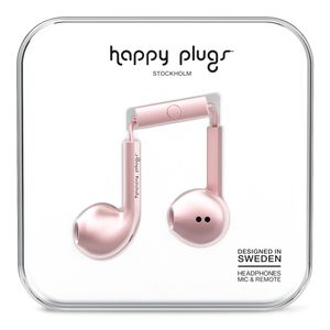 HAPPY PLUGS EARBUD PLUS PINK GOLD                        IN ACCS (7827)