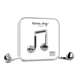 HAPPY PLUGS EARBUD PLUS SILVER                                  IN ACCS (7822)