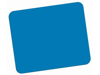 FELLOWES ECONOMY MOUSE PAD /BLUE (29700)