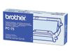 BROTHER Ribbon+Cartridge 144 Pages For FAXT104/ T106 (PC75)