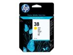 HP 38 pigmentbasert gul original