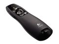 LOGITECH Logitech® Wireless Presenter R400 wireless receiver and a range of up to 15 metres (50 feet).