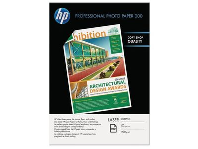 HP Professional Glossy Laser Photo Paper A4 200 g/m2 100 sheet 210 x 297 mm (CG966A)
