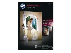HP CR672A Premium Plus Glossy Photo Paper white 300g/m2 A4 20 sheets 1-pack