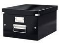 LEITZ Storage Box Click & Store Medium Black