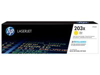 HP 203X ORIG YELLOW LASERJET TONER CARTRIDGE SUPL (CF542X)