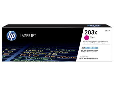 HP Toner/ 203X Original LaserJet Cart MG (CF543X)