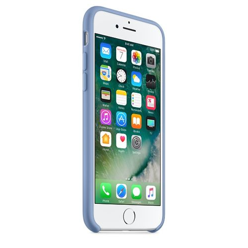 APPLE iPhone 7 Silicone Case - Azure (MQ0J2ZM/A)