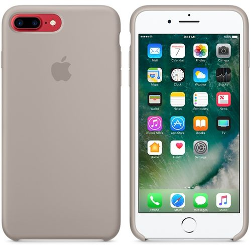 APPLE iPhone 7 Plus Silicone Case - Pebble (MQ0P2ZM/A)