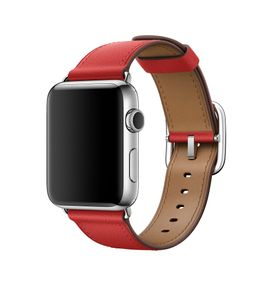 APPLE 42mm Red Classic Buckle (MPWX2ZM/A)