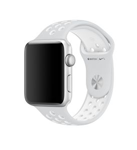 APPLE 38mm Pure Platinum/ White Nike (MQ2J2ZM/A)