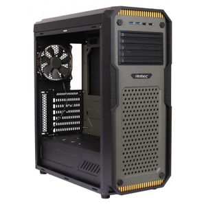 ANTEC GX909 ATX MIDITOWER GREEN/ BLACK USB3.0/ USB2.0/  2X COOLING FAN CBNT (0-761345-01142-6)