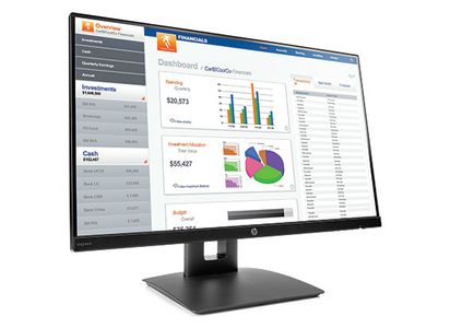 HP Display VH240a 24in FHD LED IPS AG 16:9 1920x1080 Height Adjustable speakers 1/1/0    (1KL30AA#ABB)