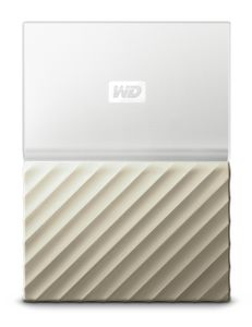 WESTERN DIGITAL HDD EXT My Pass Ultra 2TB White Gold (WDBFKT0020BGD-WESN)