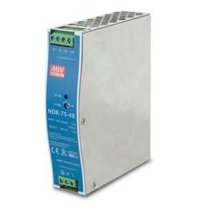 PLANET 48V, 75W Din-Rail Power Supply (PWR-75-48)