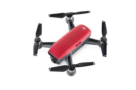 DJI Spark Lava Red Fly More Combo (CP.PT.000891)