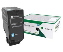 LEXMARK 10K Return Program Cyan Toner Cartridge (CS/ CX727, CS728)