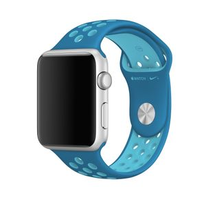 APPLE 42MM BLUE ORBIT/ GAMMA BLUE NIKE SPORT BAND  S/M & M/L ACCS (MQ2W2ZM/A)