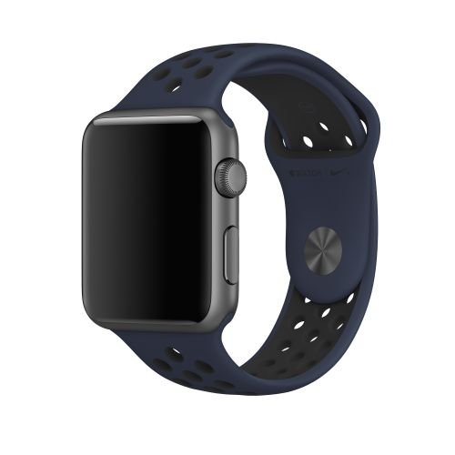 APPLE 42MM OBSIDIAN/ BLACK NIKE SPORT BAND  S/M & M/L ACCS (MQ2X2ZM/A)