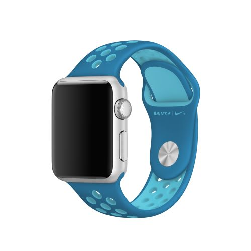 APPLE 38mm Blue Orbit/ Gamma Blue Nike SportB (MQ2N2ZM/A)