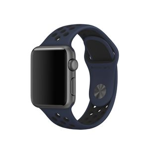 APPLE 38mm Obsidian/ Black Nike Sport Band (MQ2P2ZM/A)