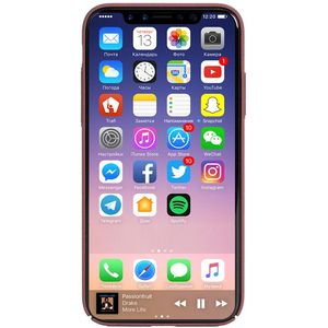 KRUSELL SANDBY COVER (IPHONE X RUST) (61093)