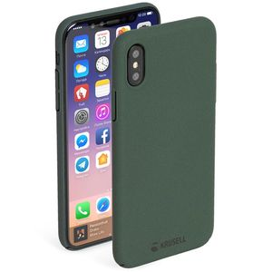 KRUSELL SANDBY COVER IPHONE X MOSS (61094)