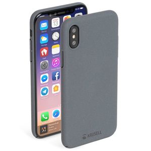 KRUSELL SANDBY COVER IPHONE X STONE (61095)