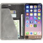 KRUSELL SUNNE 4 CARD FOLIOCASE IPHONE X LIGHT GREY (61099)
