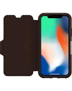 OTTERBOX Strada Iphone X Espresso Brown (77-57238)