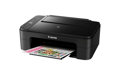 CANON Pixma TS3150 Black A4 MFP 3in1 print copy scan Cloud Link Wlan 3,8cm SW-LCD-Display Dublex Print (2226C006)