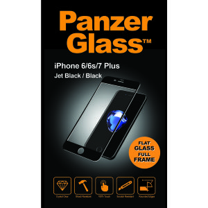 PanzerGlass iPhone 6/6s/7/7s Plus Jet Black/ Black (2619)