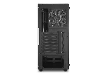 SHARKOON TG5 GLASS RED ATX TOWER CBNT (4044951020560)
