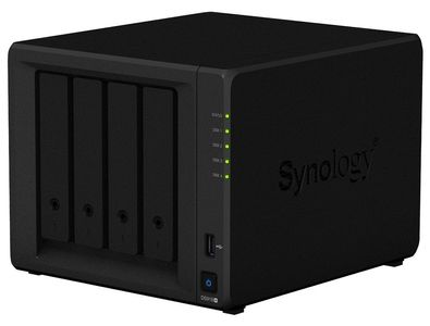 SYNOLOGY DS918+ 4BAY 1.5 GHZ QC 2X GBE 4GB DDR3L 2X USB 3.0 1X M.2 SLOT IN EXT (DS918+)