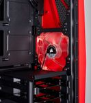 CORSAIR Cabride SPEC-04 Mid Tower Case Tempered Glass Gaming Case Black and Red (CC-9011117-WW)