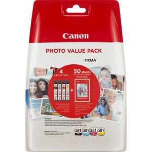 CANON CLI-581 Photo Value F-FEEDS (2106C005)